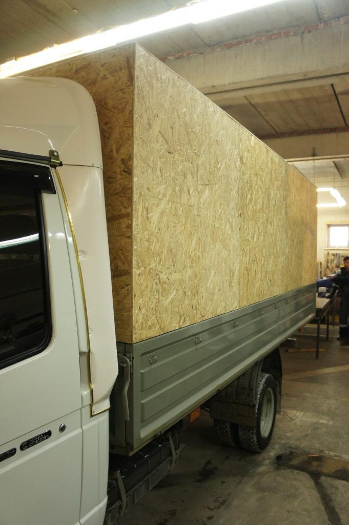 Изготовление каркаса и тента на грузовик «Газель»