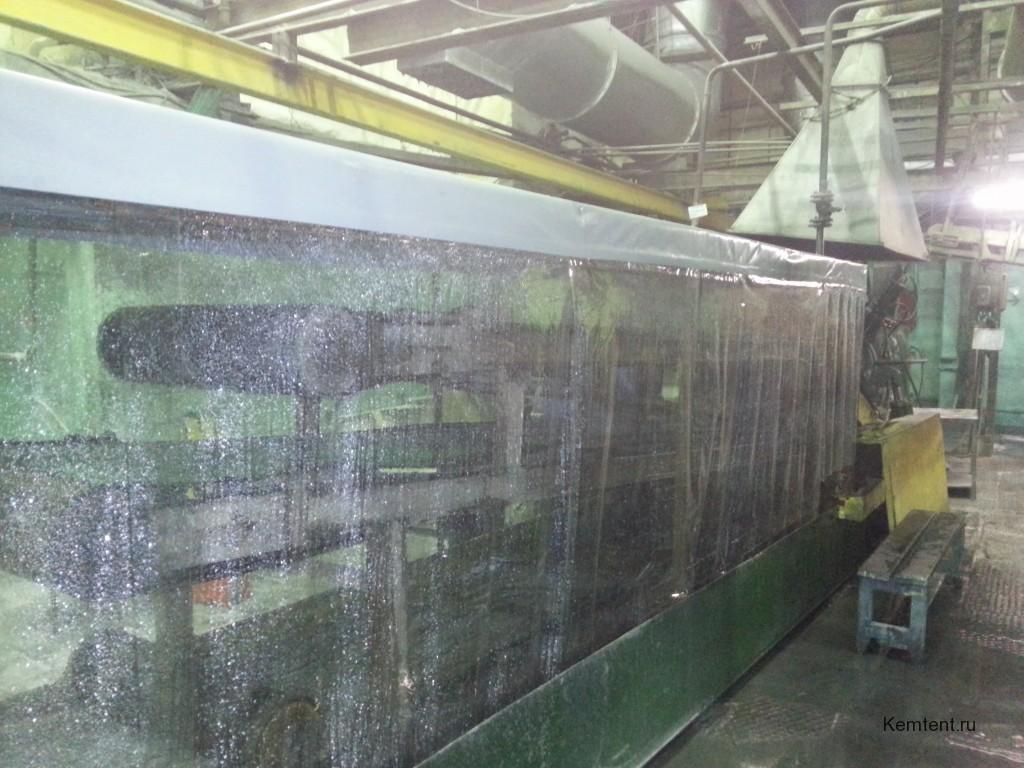 Тент на промышленное оборудование (конвеер)