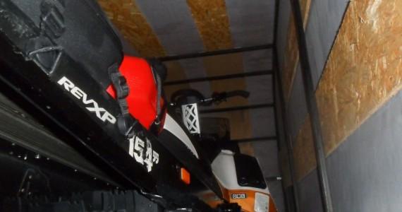 Каркас тент для перевозки снегохода