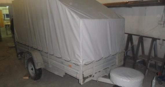 Изготовление тента на легковой прицеп в Кемерово