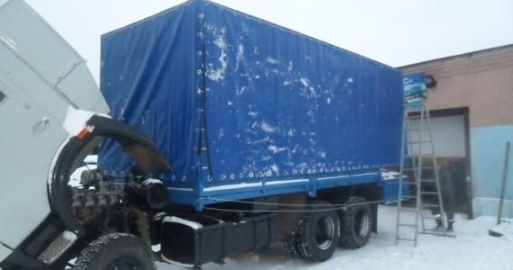 Изготовление тента на грузовик в Кемерово