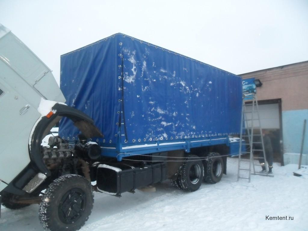 Изготовление тента на грузовик «Камаз»