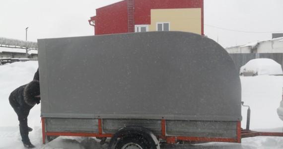 Тент для перевозки снегохода