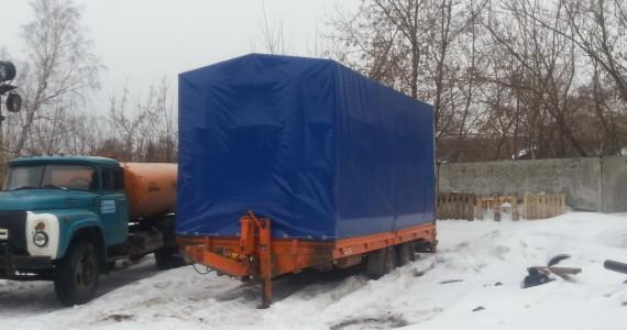 Изготовление тента на телегу в Кемерово