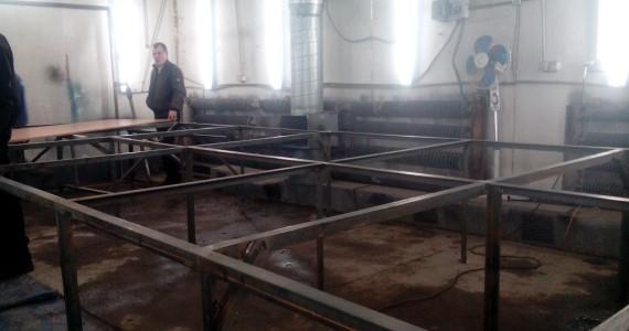 Изготовление каркаса  раскроечного стола в Кемерово