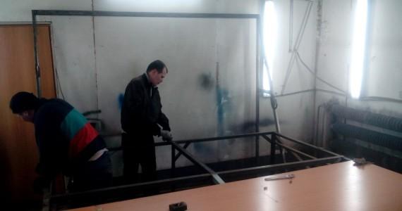 Изготовление стола для раскройки в автоателье