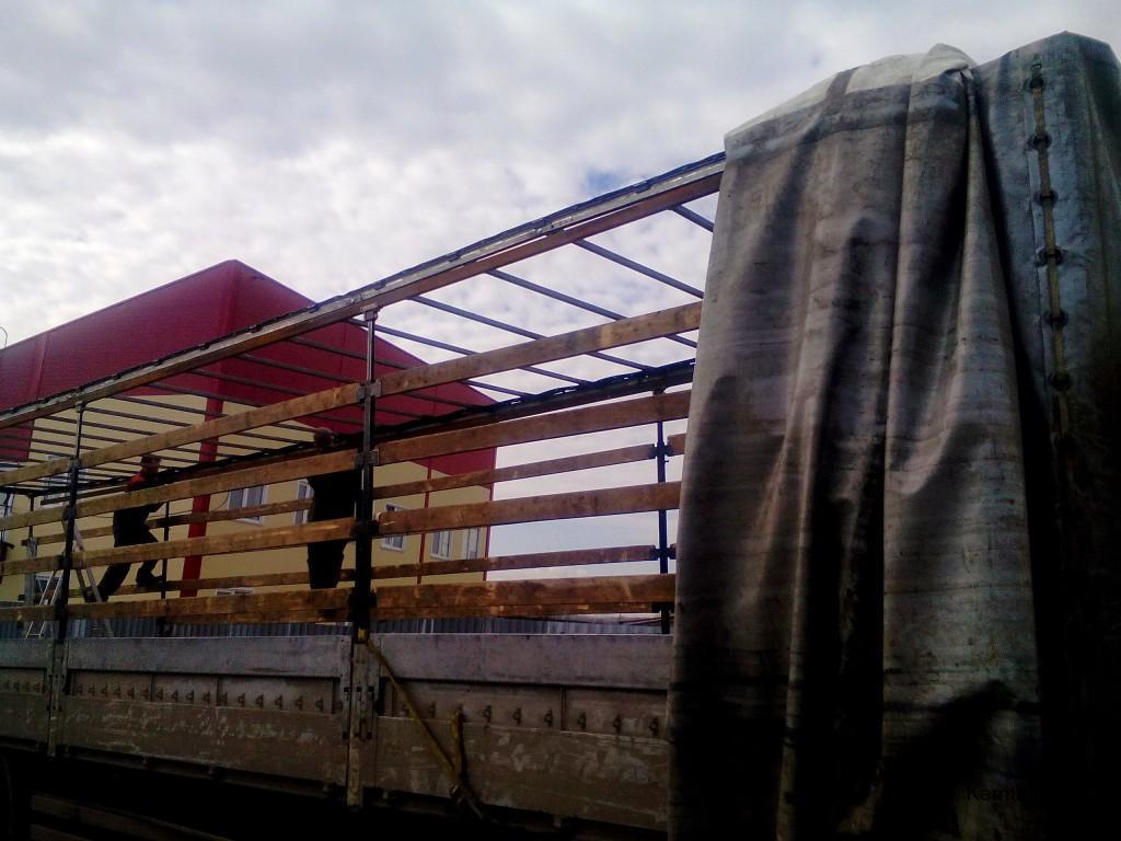Ремонт механизма сдвижного тента в Кемерово
