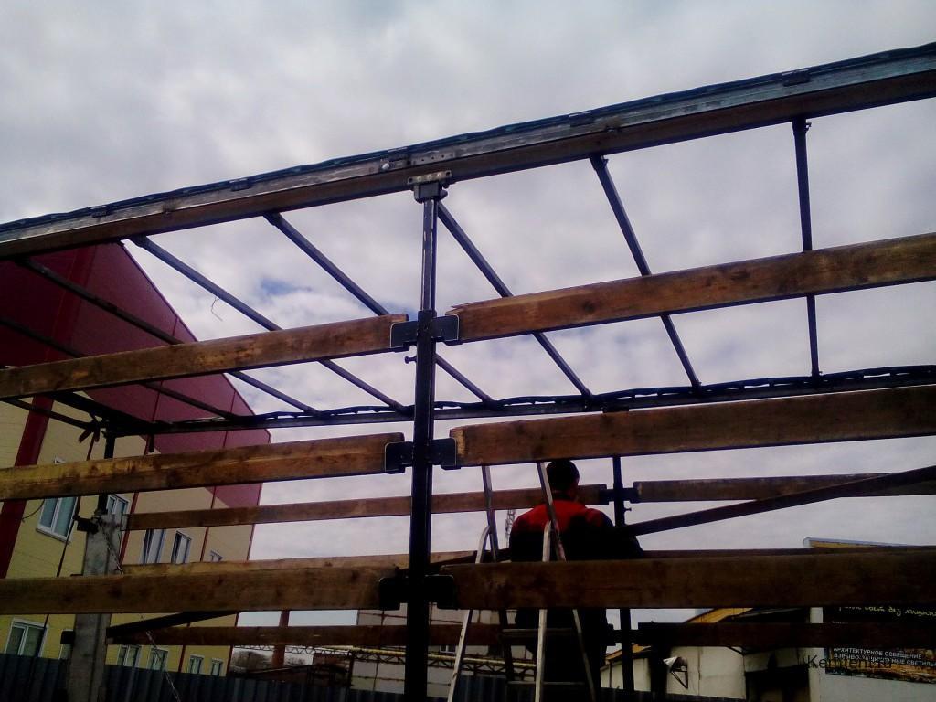 Ремонт сдвижного механизма тента в Кемерово