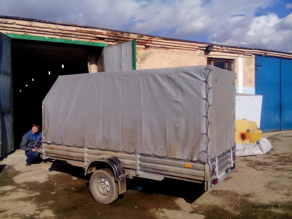 Ремонт тента легкового прицепа в Кемерово