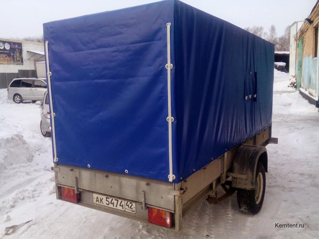 Изготовление каркаса и ПВХ-тента для легкового прицепа КМЗ в Кемерово