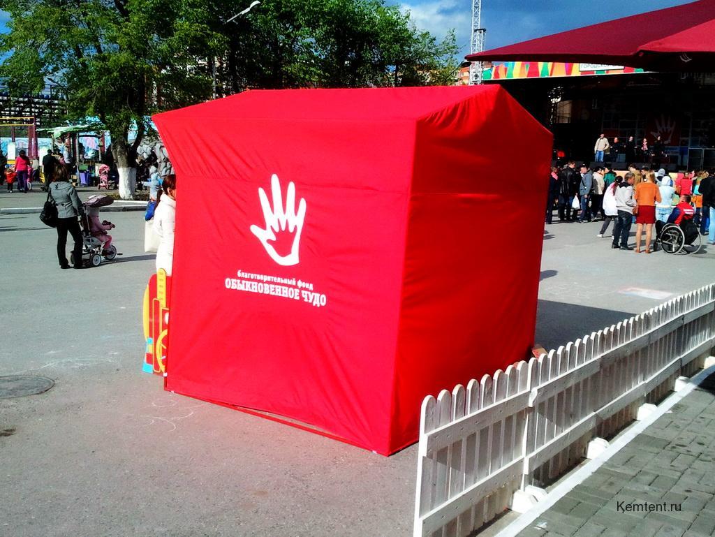 Торговая палатка в Кемерово