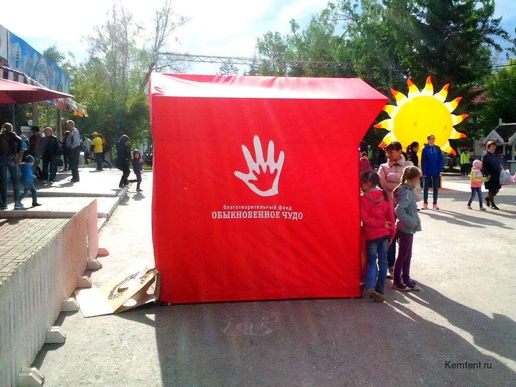 Производство торговой палатки в Кемерово