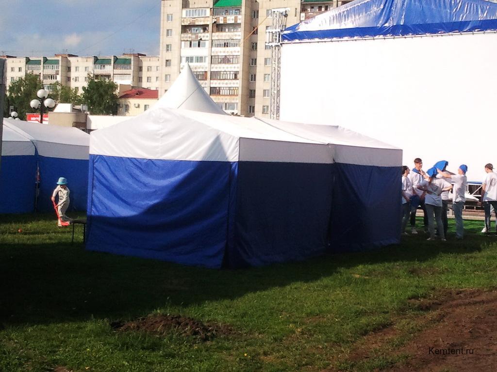 Палатки для массовых мероприятий