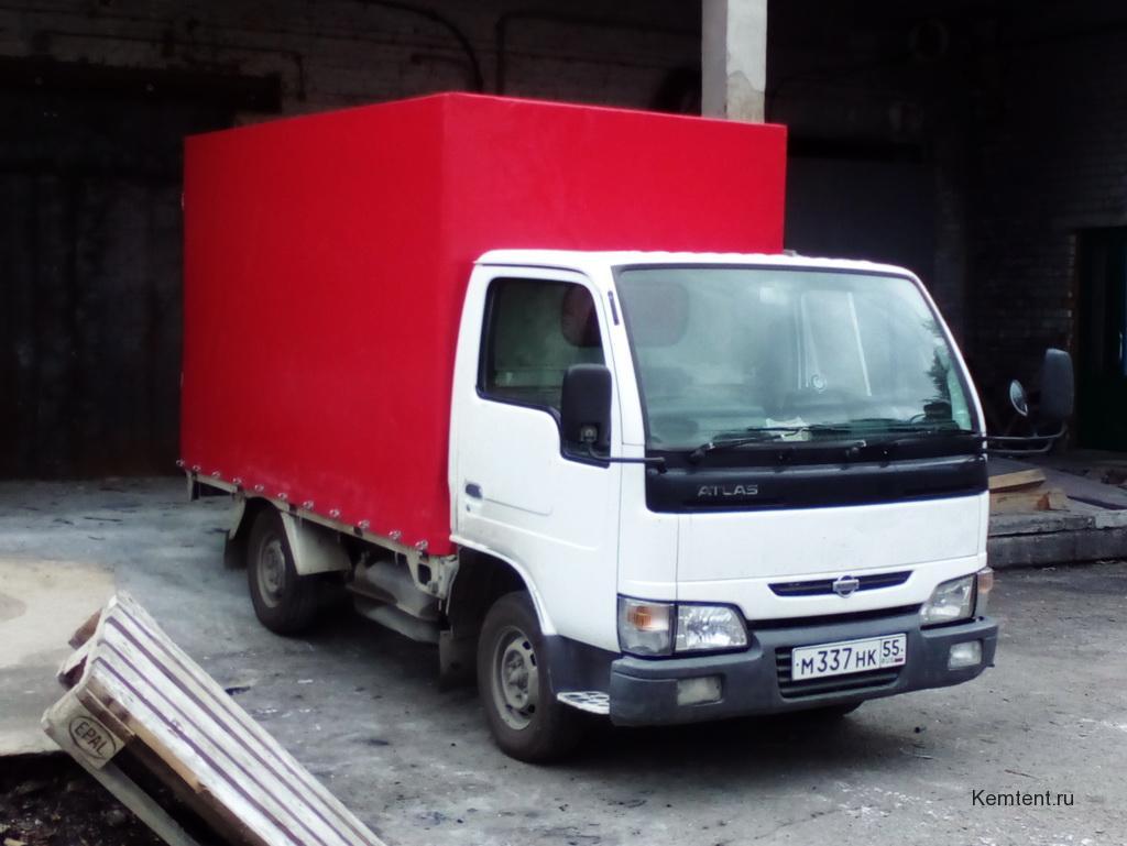 Изготовление тента на грузовик Nissan