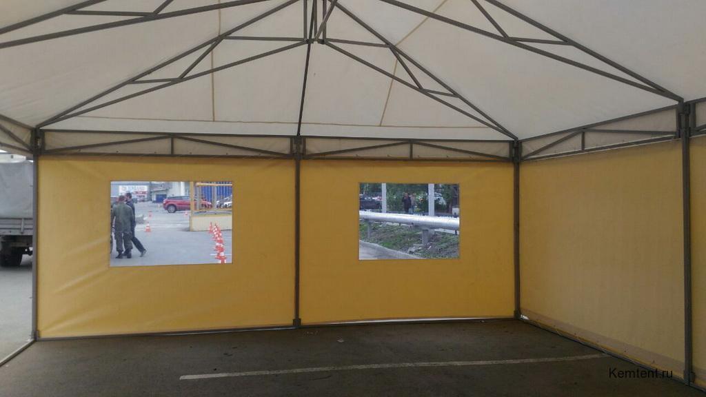 Изготовление шатра для кафе в Кемерово