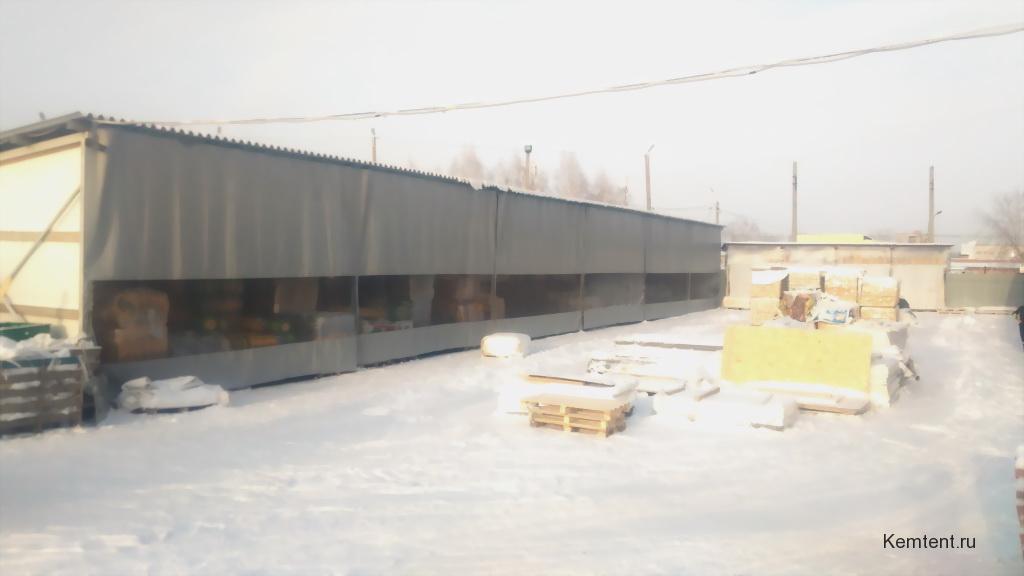 Промышленные шторы-ПВХ